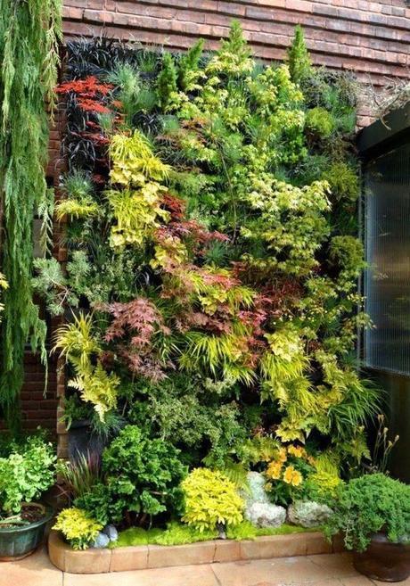 Deco: la maravilla de los jardines verticales