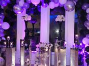 Fiesta años color Violeta