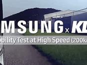 KDDI Samsung baten récord prueba movilidad Alta Velocidad
