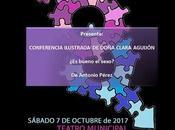 Vayatela-Teatro presenta 'Conferencia ilustrada Doña Clara Aguijón, bueno sexo?'