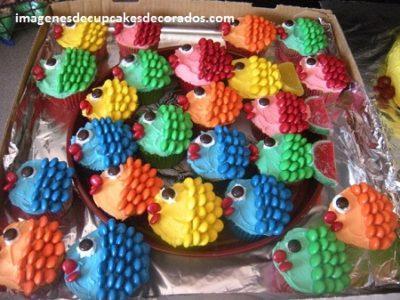 como decorar los cupcakes para fiestas imagenes