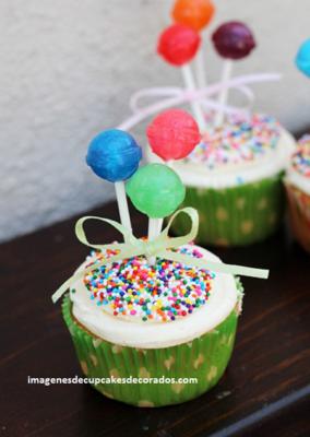 como decorar los cupcakes para fiestas ideas