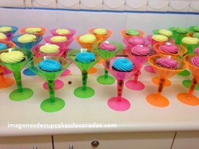 como decorar los cupcakes para fiestas decoracion