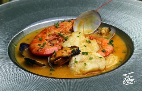 Zarzuela de pescado y marisco paperblog for Cocinar zarzuela