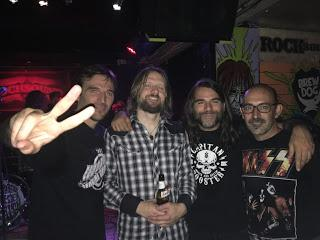 The Steepwater Band - Barcelona 15-09-17 - Sala Rocksound
