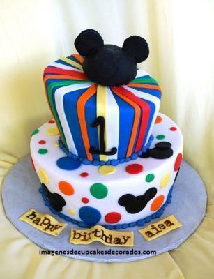 pasteles decorados con fondant para niños fiestas