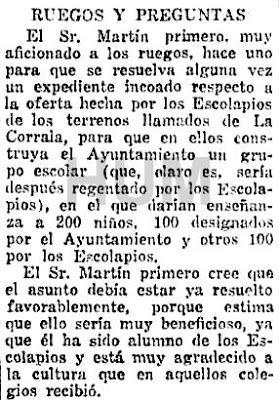 Santos Yubero y las casas con corredores, también llamadas corralas