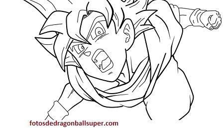 4 Imagenes De Goku Ssj Dios Para Dibujar A Lapiz Paso A Paso Paperblog