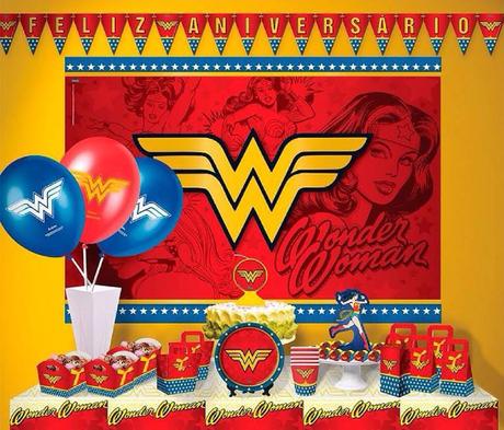 12 ideas para tu Fiesta temática de la mujer maravilla