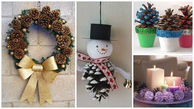 Pias De Navidad Adornos Great Perfect Elegant Trendy Como Hacer Tu