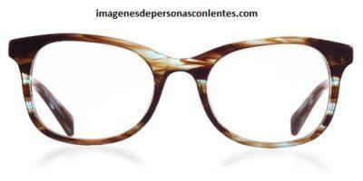 fotos de armazones de lentes modernos gato