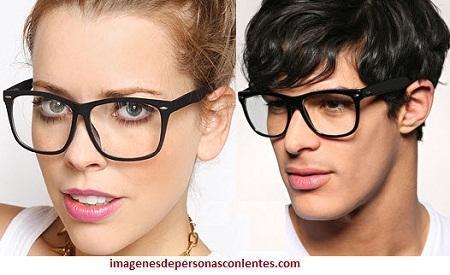 fotos de armazones de lentes modernos aumento