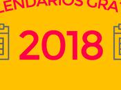 calendarios 2018 para imprimir gratis