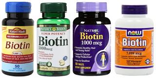Biotina vitamina para el cabello