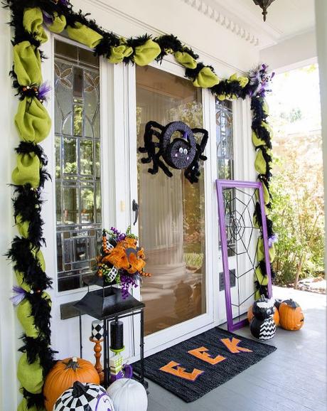 Ideas para decorar tu puerta de halloween paperblog Como decorar una puerta