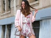 Outfit americana rosa