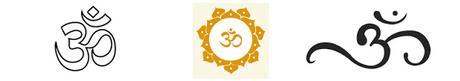 Los símbolos religiosos en India. Shapes, marks and symbols in hinduism