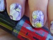 Nail Flower Water Decals