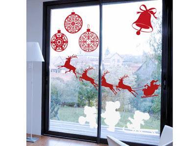 12 Ideas navideñas para decorar ventanas en esta navidad