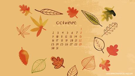 Fondo de pantalla calendario octubre 2017 paperblog for Fondo de pantalla calendario 2018