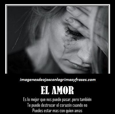 Imagenes Con Frases Y Textos De Amor Para Llorar Por Desamor
