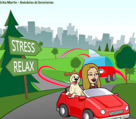 Estrés en vacaciones