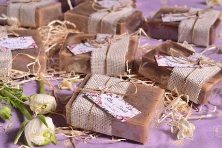 Detalles para bodas jabones naturales hechos a mano
