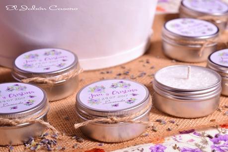 Detalles para bodas velas perfumadas naturales