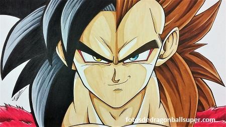 Super Imagenes De Goku Y Vegeta Ssj4 Para Dibujar Y Colorear Paperblog
