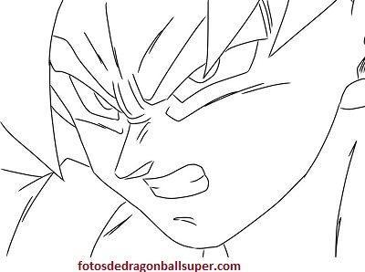 Imprimir Imagenes Para Dibujar Faciles De Goku Y Para Pintar Paperblog