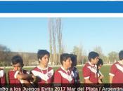 Escuela Fútbol Infantil rumbo Juegos Evita pagina