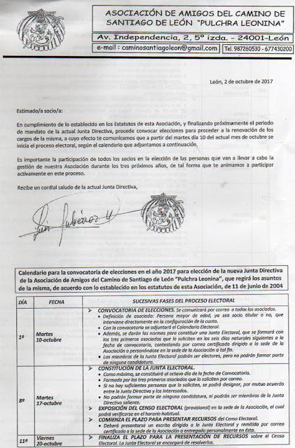 Convocatoria de elecciones en la Asociación Leonesa.