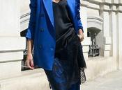 traje chaqueta azul electrico