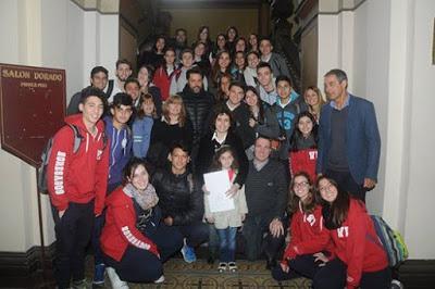 Personalidad Destacada de la Educación de la Ciudad de La Plata a la profesora Daniela Leiva Seisdedos,