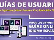Guías Usuario Online Español Lightroom, Premiere After Effects