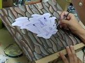 Pintant bolets Pintando setas