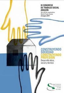 Wang en el III Congreso de Trabajo Social de Aragón