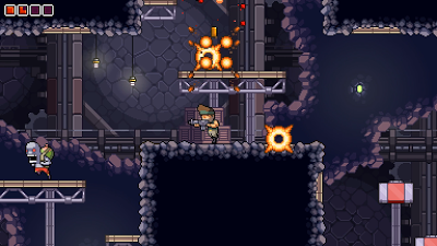 Disparos Pixelados En Omega Strike Un Juego De Exploracion Y Accion 2d Con Varios Personajes Jugables Paperblog