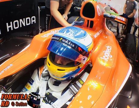 Fernando Alonso no quiere opinar sobre la complicada situación de Cataluña