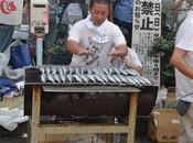 Sanma, pescado otoño Japón