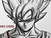 dibujos faciles goku para dibujar paso fase