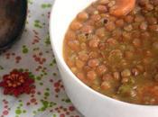 Lentejas curry fresa