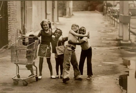 Imagen de kids, photo, and vintage