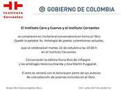 """Presentación antología """"Queda palabra (Poetas colombianas actuales)"""