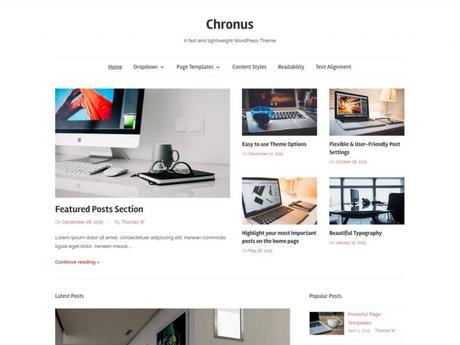 25 temas minimalistas más populares para WordPress - Paperblog