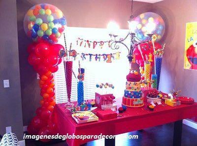 4 decoraciones de globos para fiestas infantiles para - Decoraciones para bebes ...
