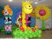 decoraciones globos para fiestas infantiles niños