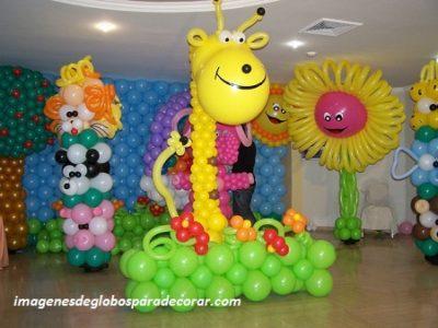 4 decoraciones de globos para fiestas infantiles para ni os paperblog - Decoracion fiestas infantiles para ninos ...