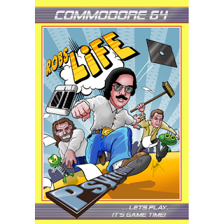 Un libro, nueva música, y hasta un videojuego para C64 del legendario compositor Rob Hubbard