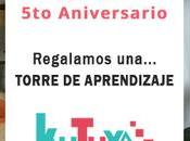 SORTEO Aniversario: Regalamos Torre Aprendizaje Kutuva!!!